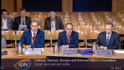 culture committee witnesses