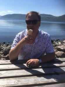Jeff with ice cream